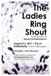 THE LADIES RING SHOUT aug 4 2011