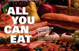 ALL U CAN EAT 12.07.12 @ 8PM