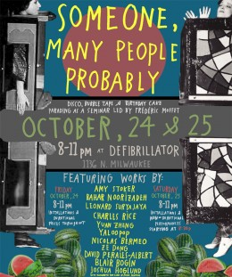 SOMEONE, MANY PEOPLE PROBABLY OCT 24 & 25 dfb