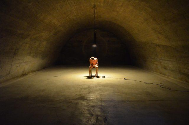 Jeremy Pauly   Still from Video Performance - B05   Montabaur, Germany 2013