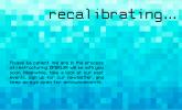 RECALIBRATING